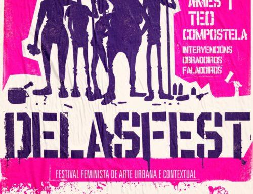 Arrancou o Delas Fest, primeiro festival de arte urbana feminista de Europa | 7H Cooperativa Cultural