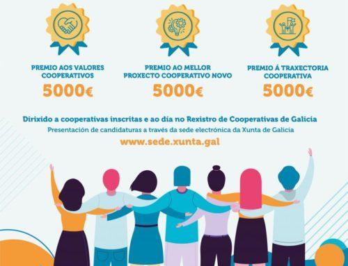 Las cooperativas gallegas ya pueden candidatarse a los Premios a la Cooperación 2020