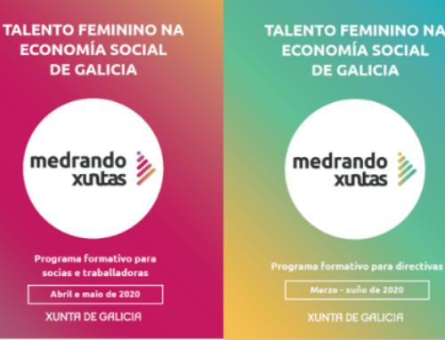 'Medrando Xuntas': fomento do talento feminino nas entidades de economía social