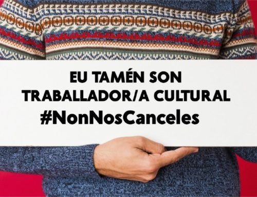 Nuestro futuro no puede ser cancelado #NonNosCanceles | Campaña en redes del sector CULTURAL