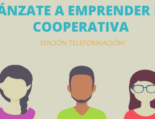 Curso: Lánzate a Emprender en Cooperativa | Teleformación, inicio 16/xuño