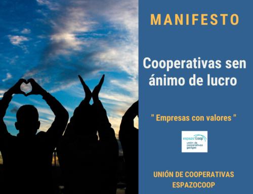 Manifesto: Cooperativas sen Ánimo de Lucro