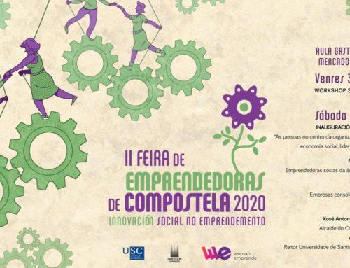 A Feira de Emprendedoras de Compostela terá a presenza das cooperativas