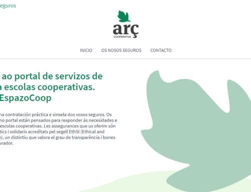 Portal de seguros éticos para escolas cooperativas asociadas a EspazoCoop