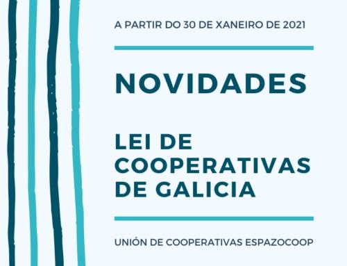 Novidades na 'Lei de Cooperativas de Galicia'