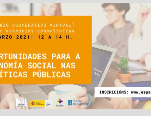 [Almorzo Cooperativo] Retos e oportunidades da economía social nas políticas públicas