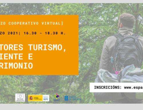 [Almorzo cooperativo] Sector Turismo, Ambiente e Patrimonio