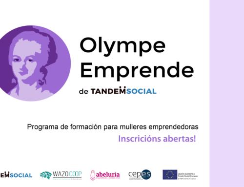 Programa #OlympeEmprende para promover el emprendimiento cooperativo liderado por mujeres en Galicia