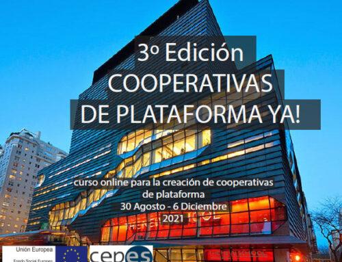 Cooperativas de Plataforma Ya!. Promoviendo una verdadera economía colaborativa
