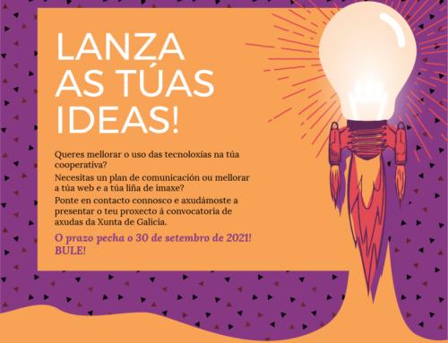 LANZA TUS IDEAS | Campaña Bono Consolida [de Coma y Almeiro]